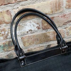 kate spade Bags - Kate Spade signature black canvas bag